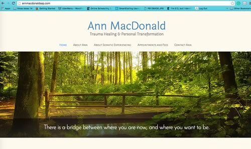 Ann MacDonald Somatic Therapy